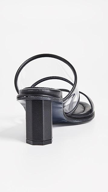 Suecomma Bonnie 透明高跟凉鞋