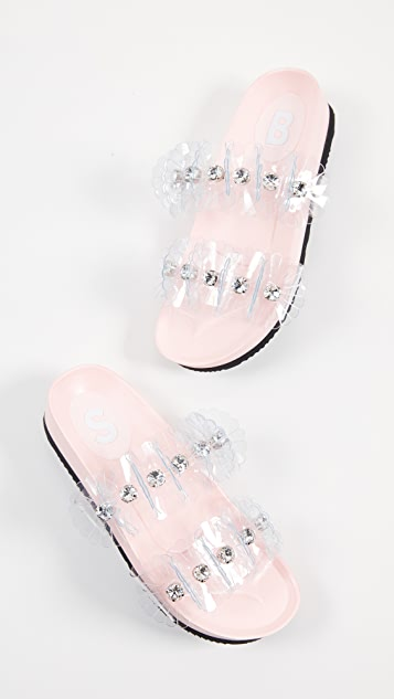 Suecomma Bonnie 花朵凉鞋