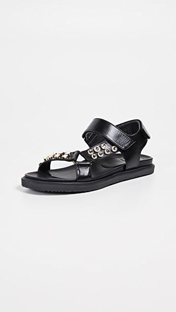 Suecomma Bonnie 珠宝凉鞋
