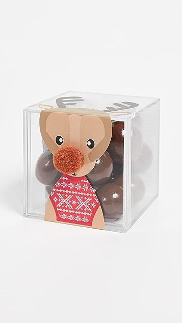 Sugarfina Reindeer 牛奶巧克力色棒