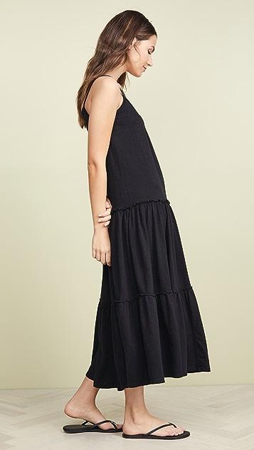 SUNDRY 多层式长连衣裙