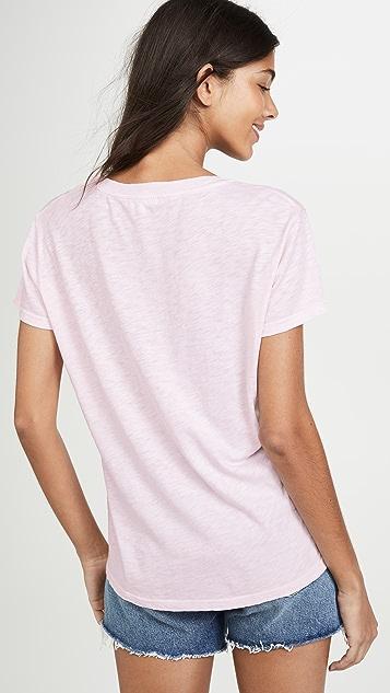 SUNDRY Vintage 条纹 T 恤