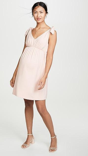 Susana Monaco Isabelline 孕妇装合身喇叭形连衣裙