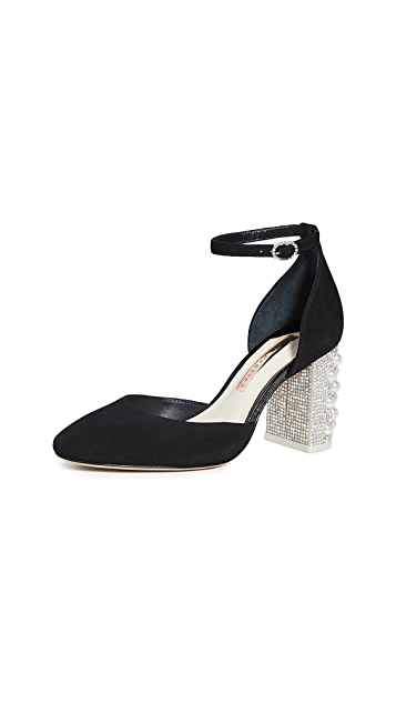 Sophia Webster Toni 侧空浅口鞋