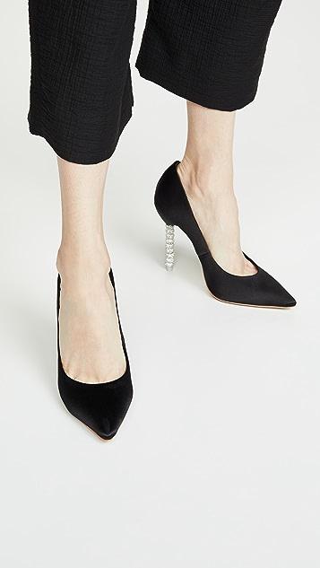 Sophia Webster Coco 水晶浅口鞋