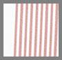 白色/浆果红色条纹