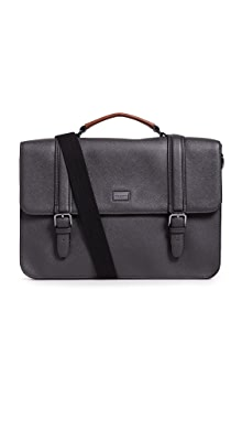 Ted Baker Machu Briefcase,Charcoal