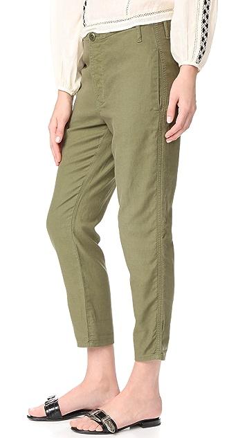 THE GREAT.  五口袋工装裤