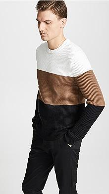 띠어리 Theory Romman Sweater,White Multi