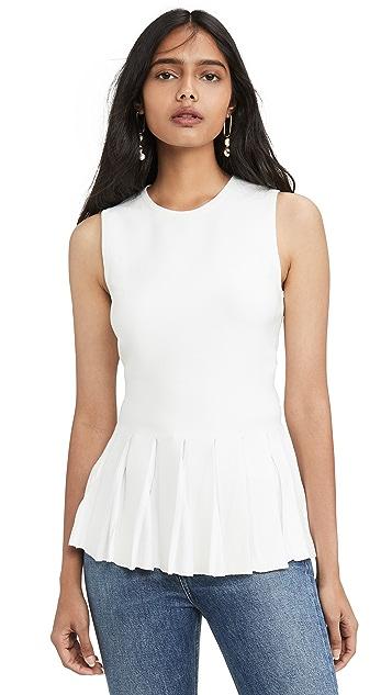 Theory 裙型腰褶 B 上衣