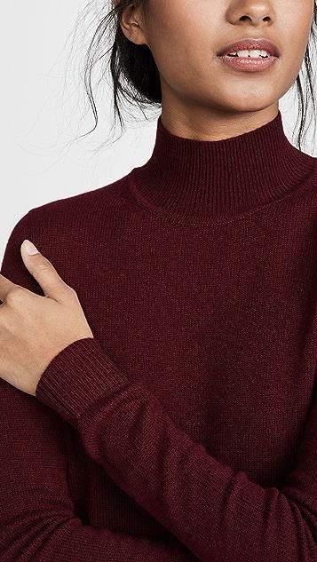 Theory 基本款开司米羊绒高领毛衣