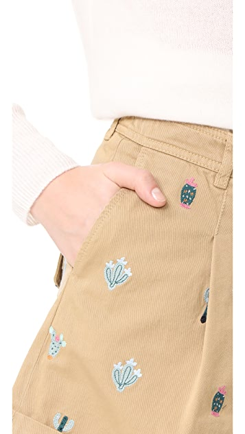 Hilfiger Collection 水洗斜纹短裤