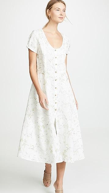 Three Dots 系扣长连衣裙