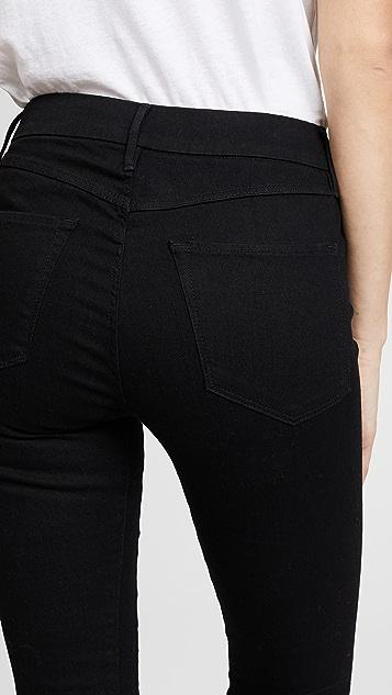 3x1 W3 Channel 接缝紧身牛仔裤