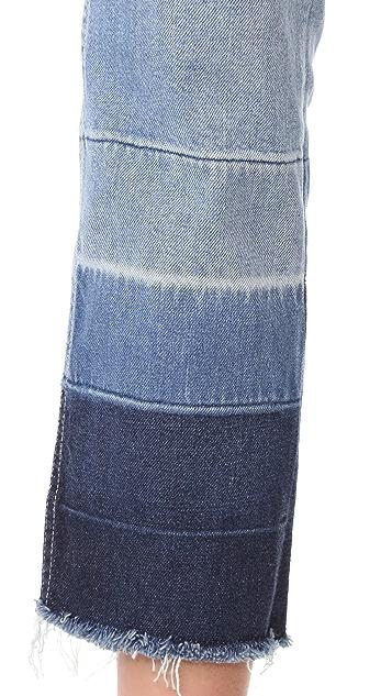 3x1 Shelter 直筒九分牛仔裤