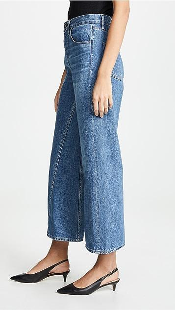 3x1 Aimee 阔腿牛仔裤