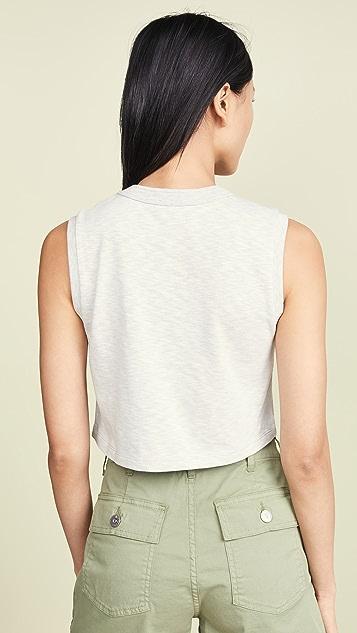 3x1 短款健美 T 恤