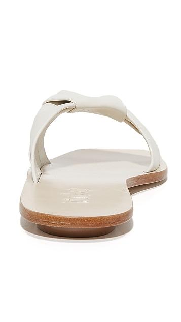 Tibi Amina Oragami 无跟便鞋