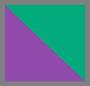 紫色/绿色
