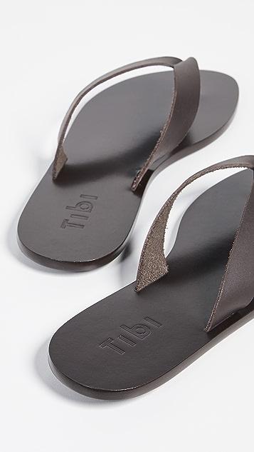 Tibi Bryan 夹趾凉鞋