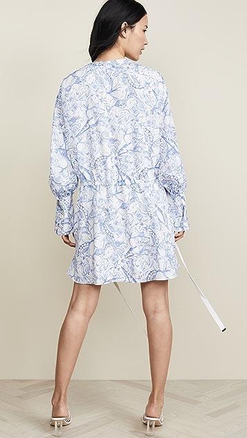 Tibi 短衬衣连衣裙