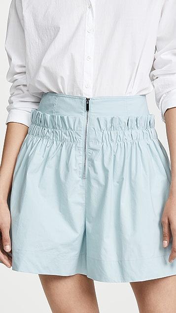 Tibi 宽摆短裤