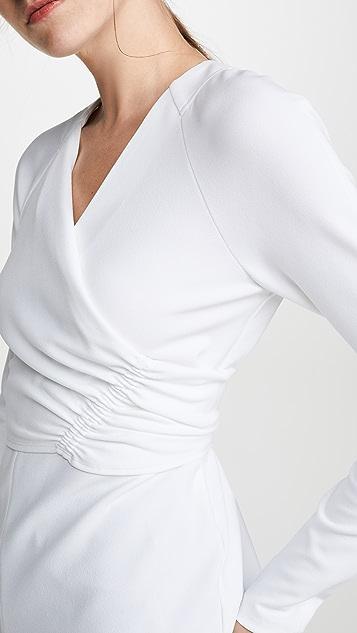Tibi V 领裹身上衣