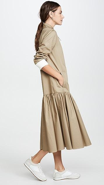 Tibi 衬衣式连衣裙