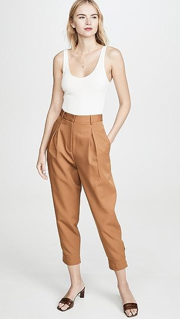 Tibi 褶饰裤