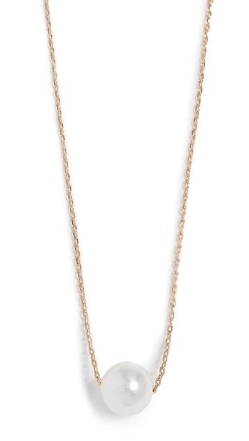 Theia Jewelry 小巧施华洛世奇人造珍珠项链