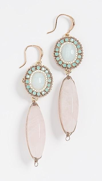 Theia Jewelry Olympia 双层耳坠