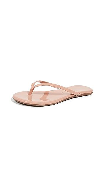 TKEES Foundations Gloss 夹趾凉鞋