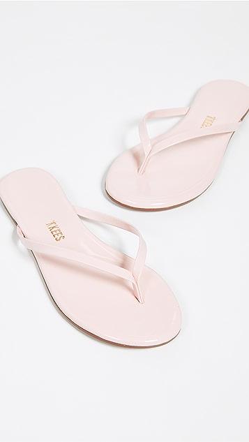 TKEES Gloss 夹趾凉鞋