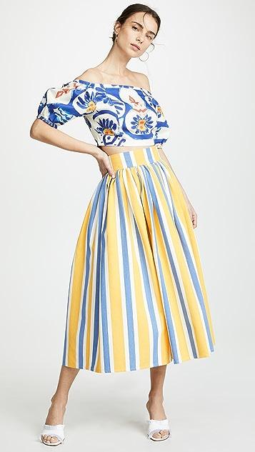 Tata Naka 褶皱裙