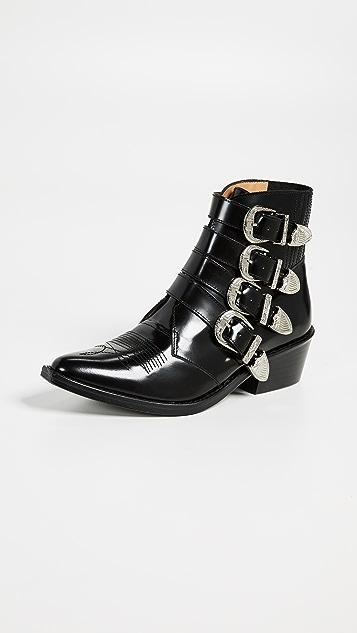 Toga Pulla 搭扣短靴