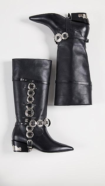 Toga Pulla 链饰靴子