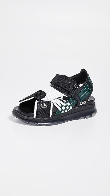 Toga Pulla 梭织运动风格凉鞋