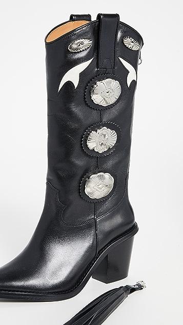 Toga Pulla 流苏高筒靴