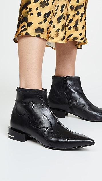 Toga Pulla 西部风情短靴
