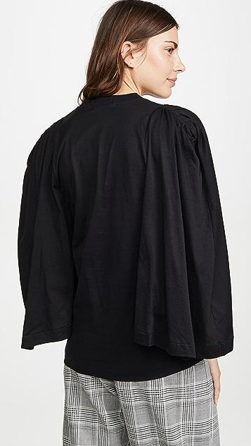 Toga Pulla 褶皱袖上衣