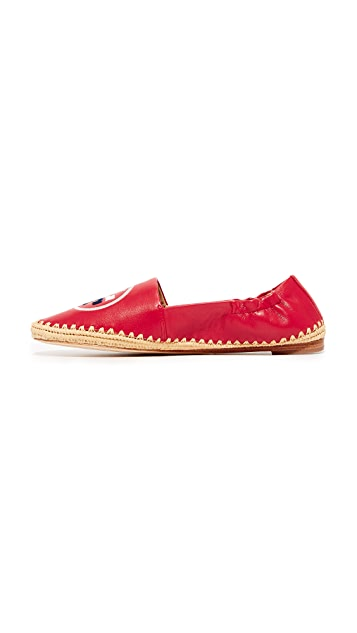 Tory Burch Darien 平跟船鞋