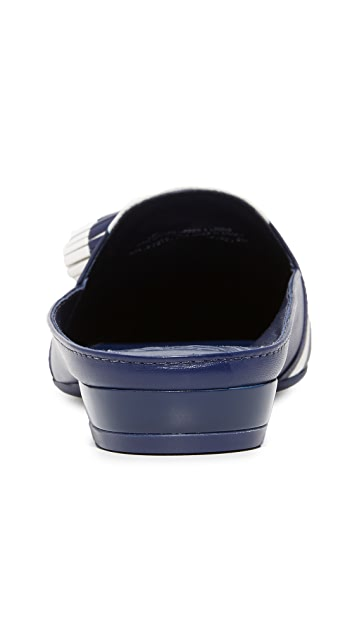 Tory Burch Maritime 流苏穆勒鞋