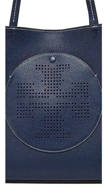 Tory Burch 多孔徽标手提袋