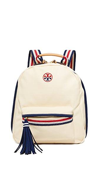 Tory Burch Preppy 帆布背包