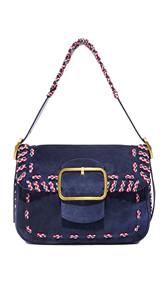 Tory Burch Sawyer 针脚肩背包