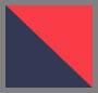 楠塔基特岛红色/海军蓝/白色