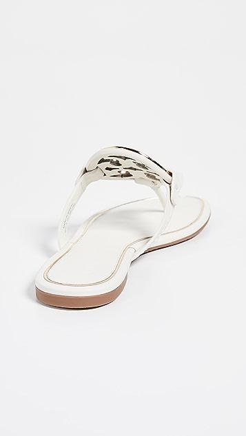Tory Burch Metal Miller 夹趾凉鞋