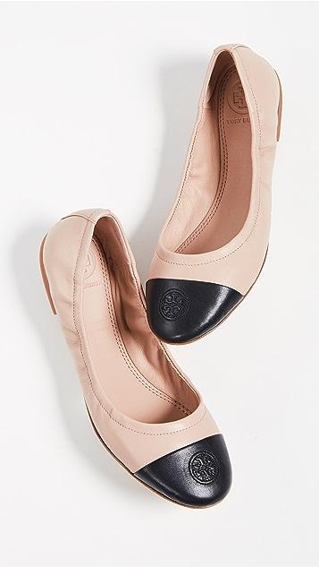 Tory Burch 尖头平底芭蕾舞鞋