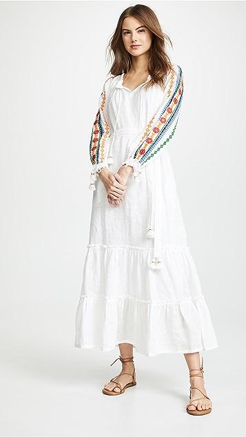 Tory Burch 刺绣连衣裙