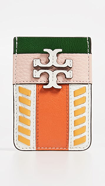 Tory Burch McGraw 拼接卡包